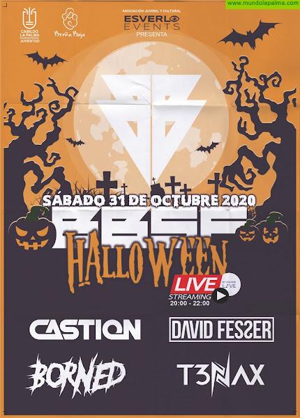 BREÑA BAJA: BBSF Halloween Streaming Live 2020, primer Festival de Música Electrónica Online de Canarias