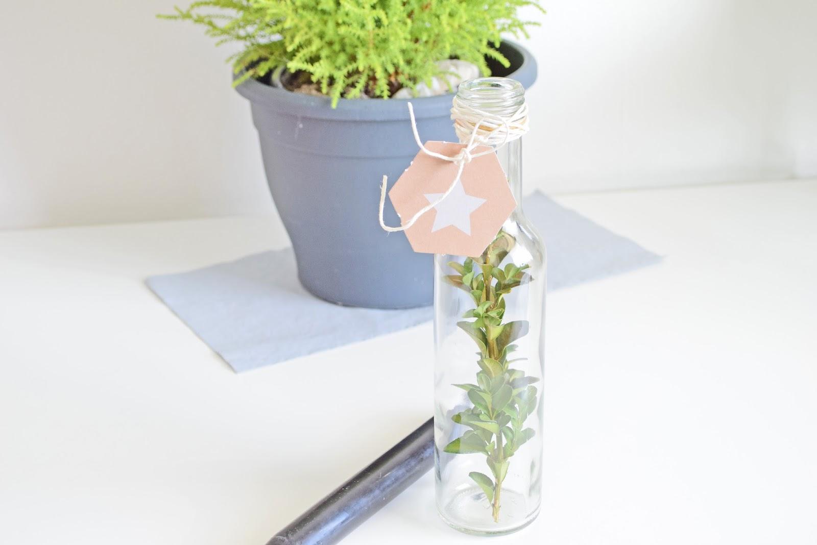 DIY - Jak zrobić prosty świecznik na świąteczny stół?