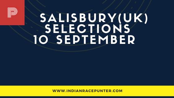Salisbury UK Race Selections 10 September