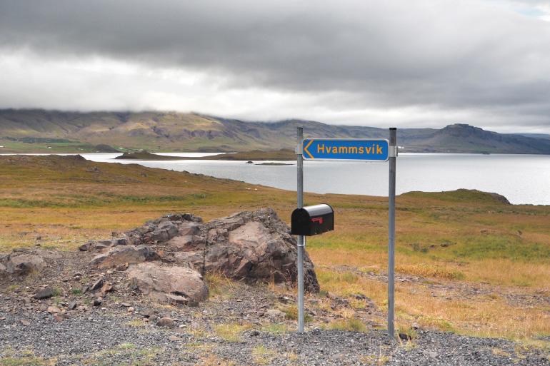 Road trip en terres islandaises - Hvammsvik