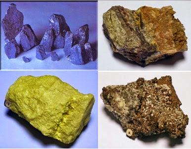 maden türleri