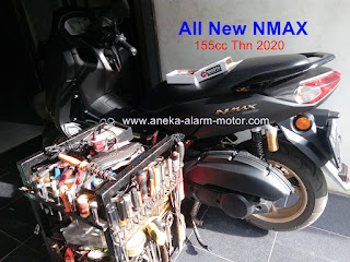 Cara pasang alarm motor remote All New Nmax 2020