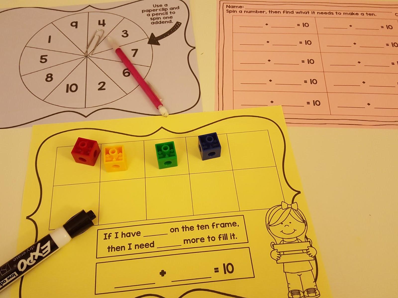 Second Grade Nest Quick Math Resources