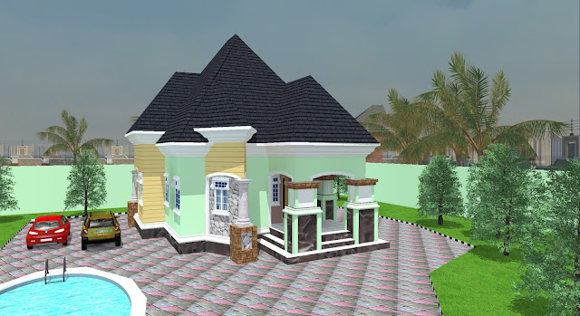 2020 FOUR BEDROOM FLAT, 2020 BUILDING