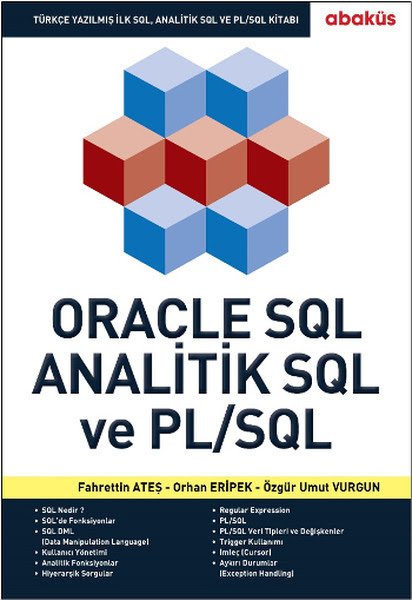 New Book - Oracle SQL, Analitik SQL ve PL/SQL
