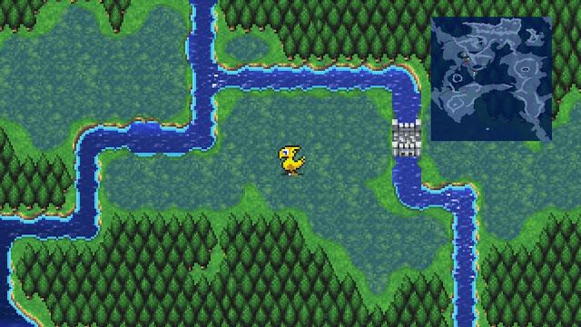 Imagem do Final Fantasy II: Pixel Remaster