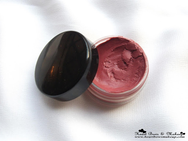 Inglot AMC Cream Blush 83 Review & Swatches, Inglot Cream Blush Review & Swatches, Inglot Blush Review, Blush for dark skin tone, Blush for indian skintone, Rosy Brown Blush, Best Cream Blush
