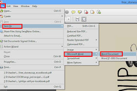 convert from pdf to docx using adobe pdf reader