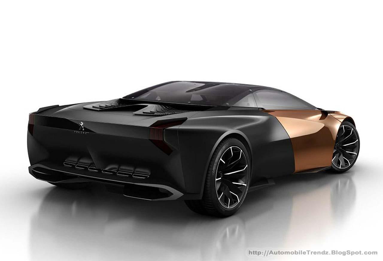 automobile trendz peugeot onyx concept car. Black Bedroom Furniture Sets. Home Design Ideas