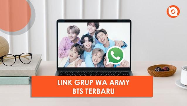 Grup WA Army BTS 2021