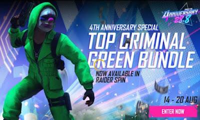 Green Criminal Bundle Redeem Code For Free