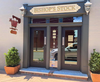 Bishop's Stock is open