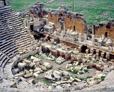 Restoration work ends at Hierapolis theatre