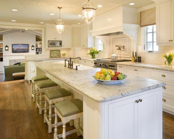 Valley White Granite Kitchen Countertop Ideas