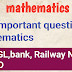 [200+Important]- Maths Questions for SSC CGL Exam - gktrickshindi