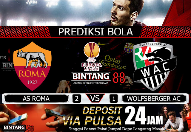AS ROMA VS WOLFSBERGER AC