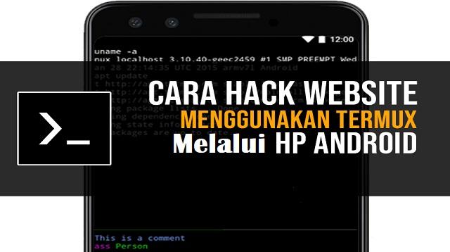 Cara Hack Website Sekolah dengan Termux