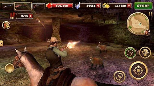 تحميل لعبة بندقية اطلاق النار كاوبوي الغرب West Gunfighter للاندرويد