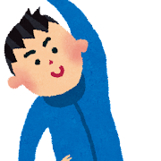 体操のイラスト(男性)