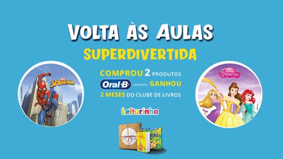 Volta Às Aulas Superdivertida Oral-B