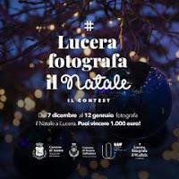 """""""Lucera fotografa il Natale"""",  si vincono 1.000 euro partecipando al contest"""