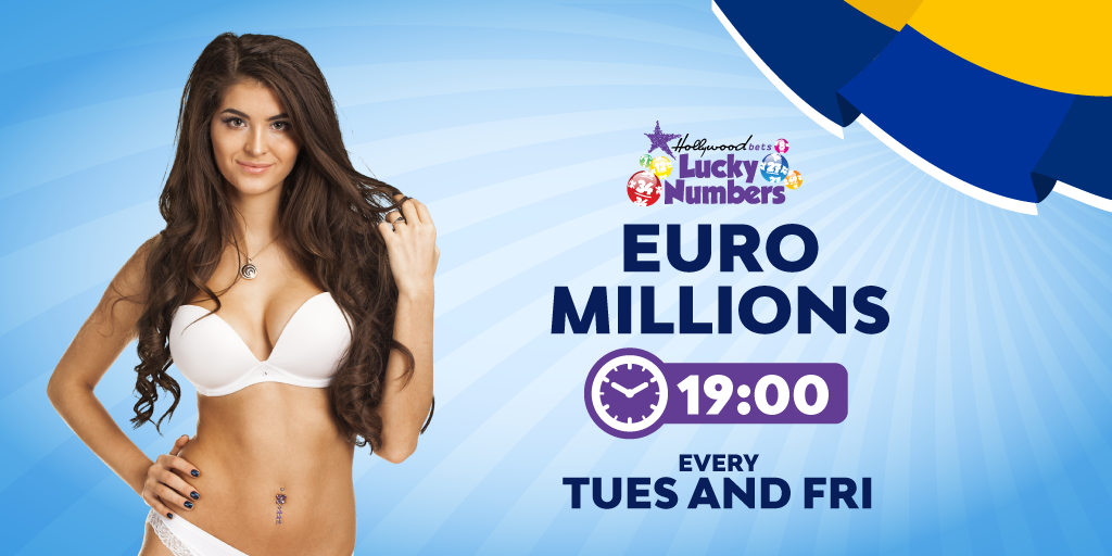EuroMillions - Lucky Numbers - Hollywoodbets - Tuesday and Friday - 19:00