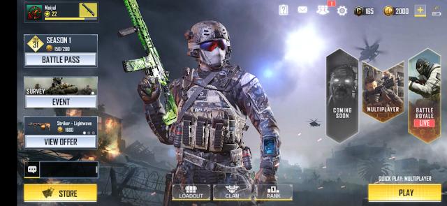 Call Of Duty Mobile Battle Royal