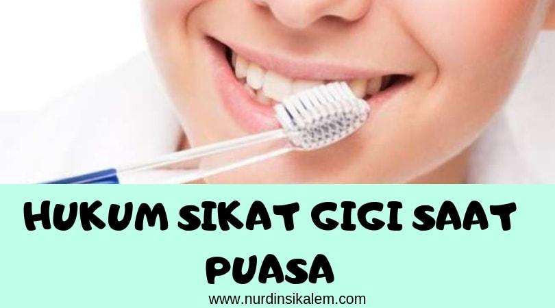 Hukum sikat gigi saat puasa menggunakan pasta gigi