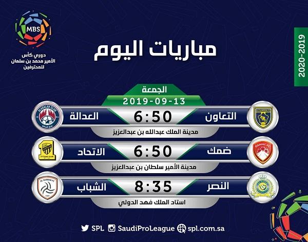 الجمعة ... انطلاق الجولة الثالثة من دوري محمد بن سلمان