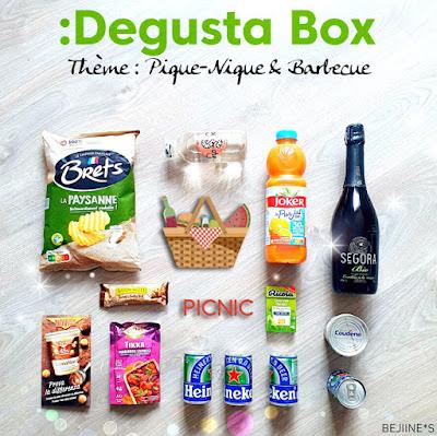 Degusta Box de Juin 2020 - Pique Nique Barbecue