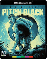 Vin Diesel, Pitch Black, scifi, action, adventure, movie, Arrow Video, 4K, UltraHD, Bluray, review,
