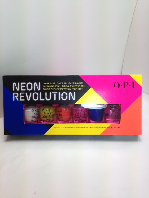 Opi Neon Revolution Mini Nail Lacquer Collection Swatches Review The Shades Of U