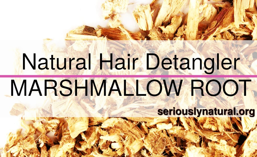 Click here to buy Starwest Botanicals Organic Marshmallow Root Cut and Sifted to create a great detangler!