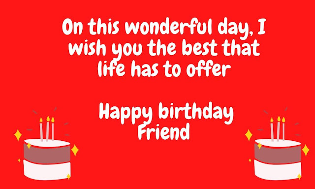 special birthday wishes for special friend