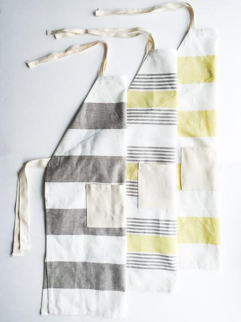 easy tea towel apron diy