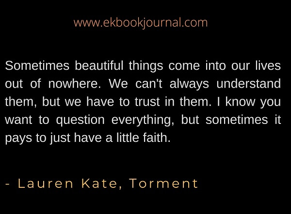 Lauren Kate | Faith Quote