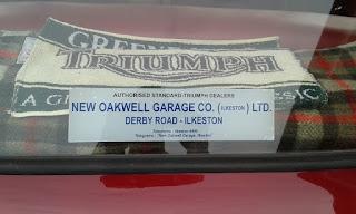 New Oakwell Garage rear window sticker