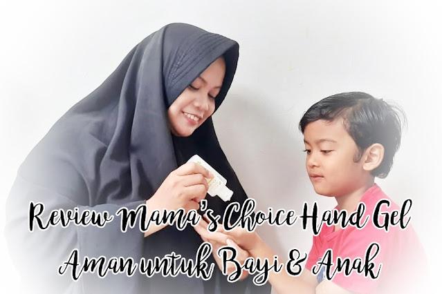 Hand Sanitizer Food Grade Aman untuk Bayi & Anak