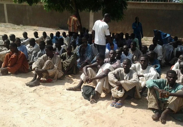 200 boko haram terrorists surrender lake chad