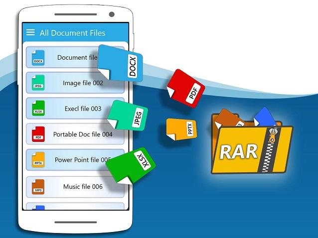 كيفية فتح وفك الضغط عن الملفات المضغوطة RAR , ZIP علي الاندرويد