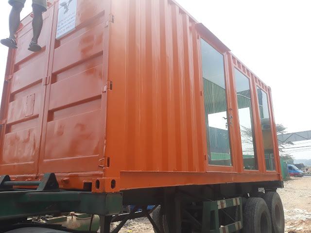Container Văn Phòng Đổ Dồn Về Bình Phước