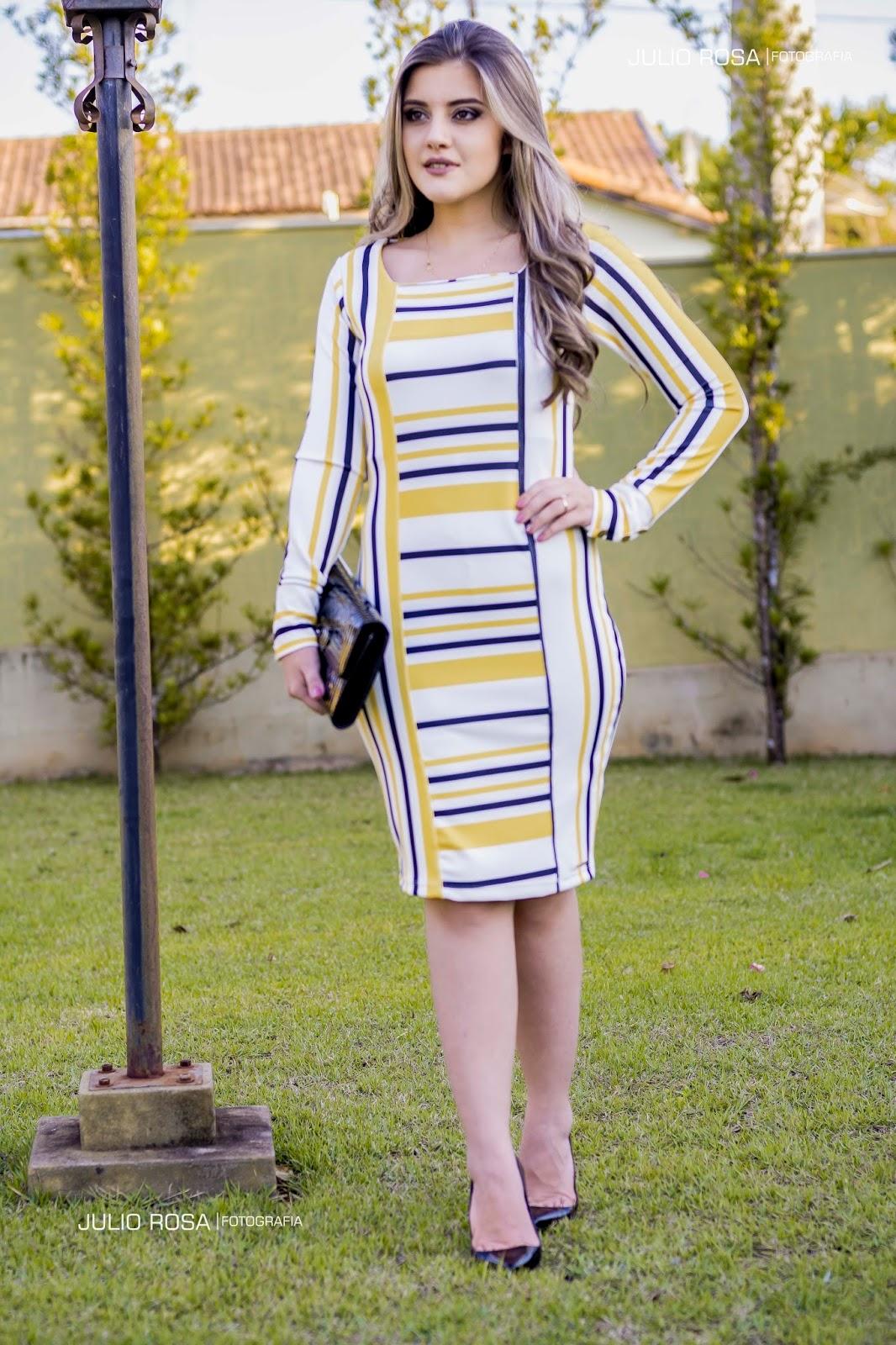 9474e7c5ad0 Blog da Lari  Meu Look  Vestido Tubinho - Enncante Moda Evangélia