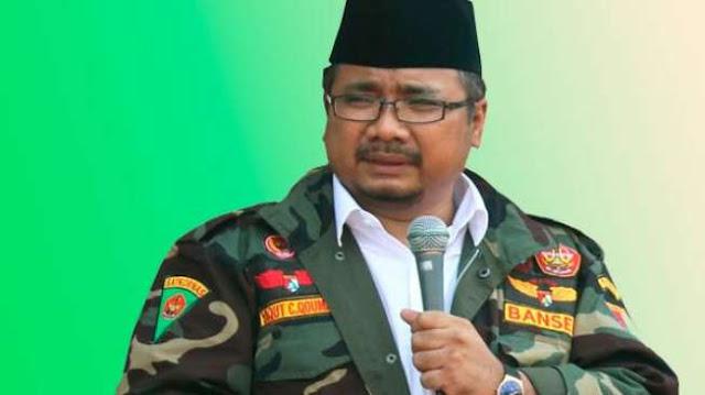 Dua Stafsus Jokowi Mundur, Ketum GP Ansor: Bubarkan Saja, Tidak Berfaedah!