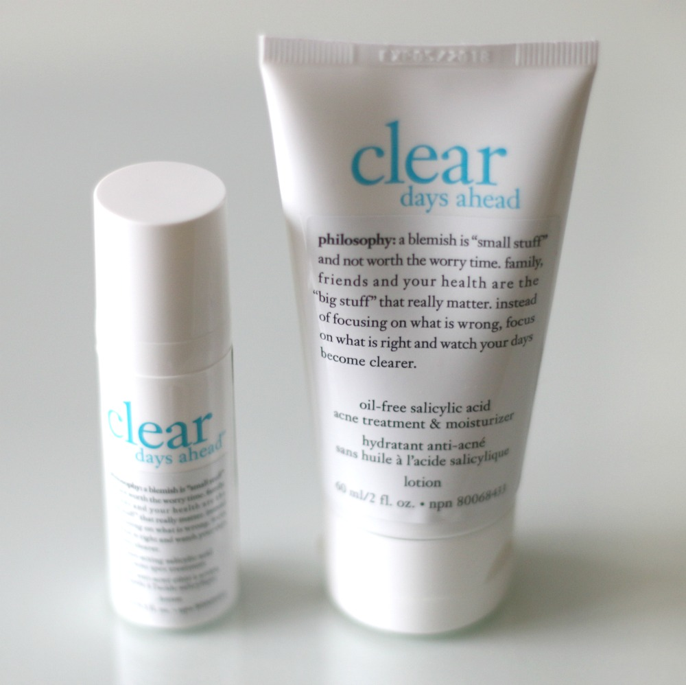 Philosophy Clear Days Ahead Spot Treatment Moisturizer