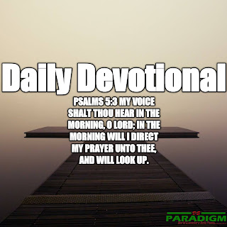 Today's Devotional |Monday| [STANDING ON GOD'S PROMISES (II)]