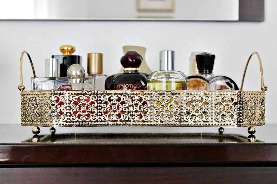 Zarahome gold tray