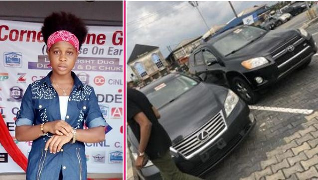 19-year-old-Nigerian-female-blogger-buys-2-cars-for-her-parents naijaslog