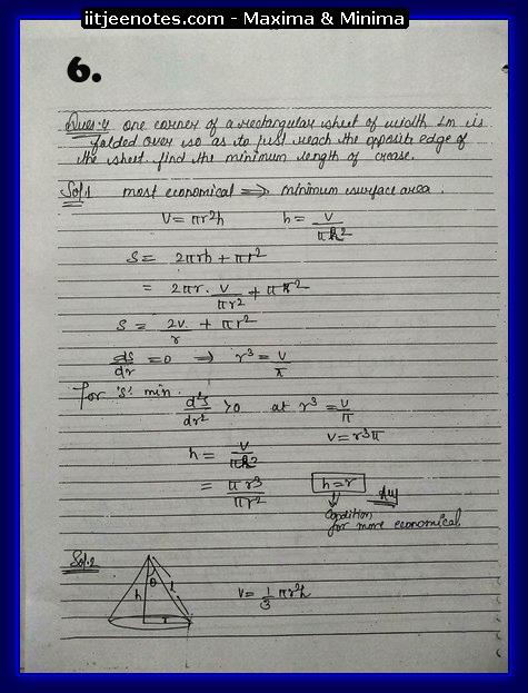maxima and minima notes4