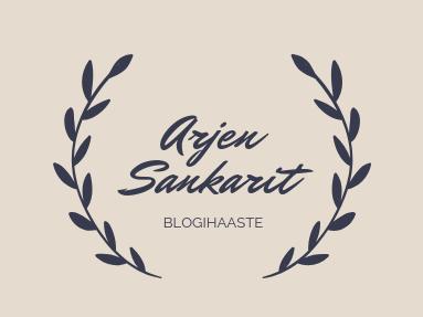 Arjen sankarit -blogihaaste