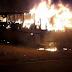 Santa Catarina: Ônibus foi incendiado em bairro da região norte de Natal